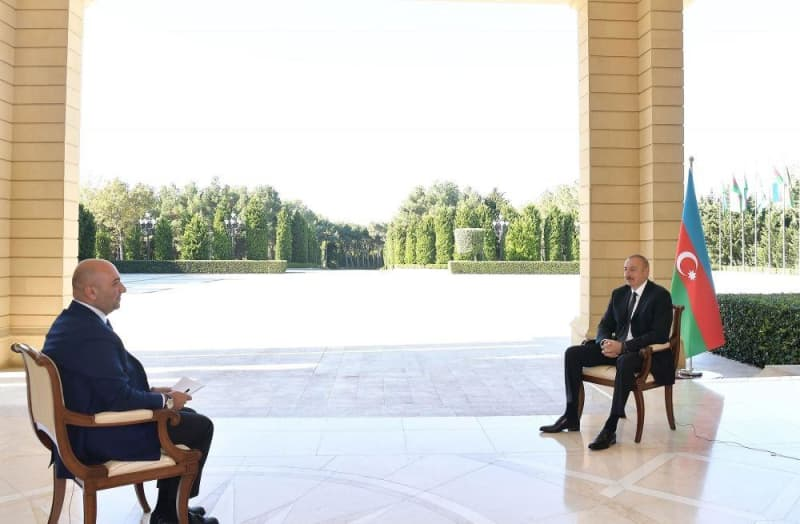 Chronicles of Victory: President Ilham Aliyev interviewed by Turkish Haber Turk TV channel on October 13, 2020