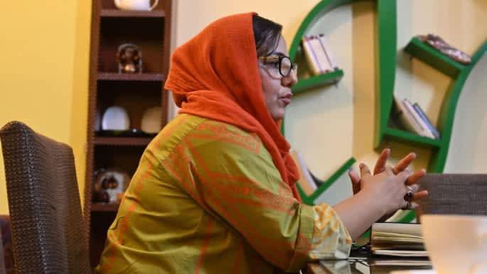 Afghan women's rights activist nominated for Sakharov Prize
